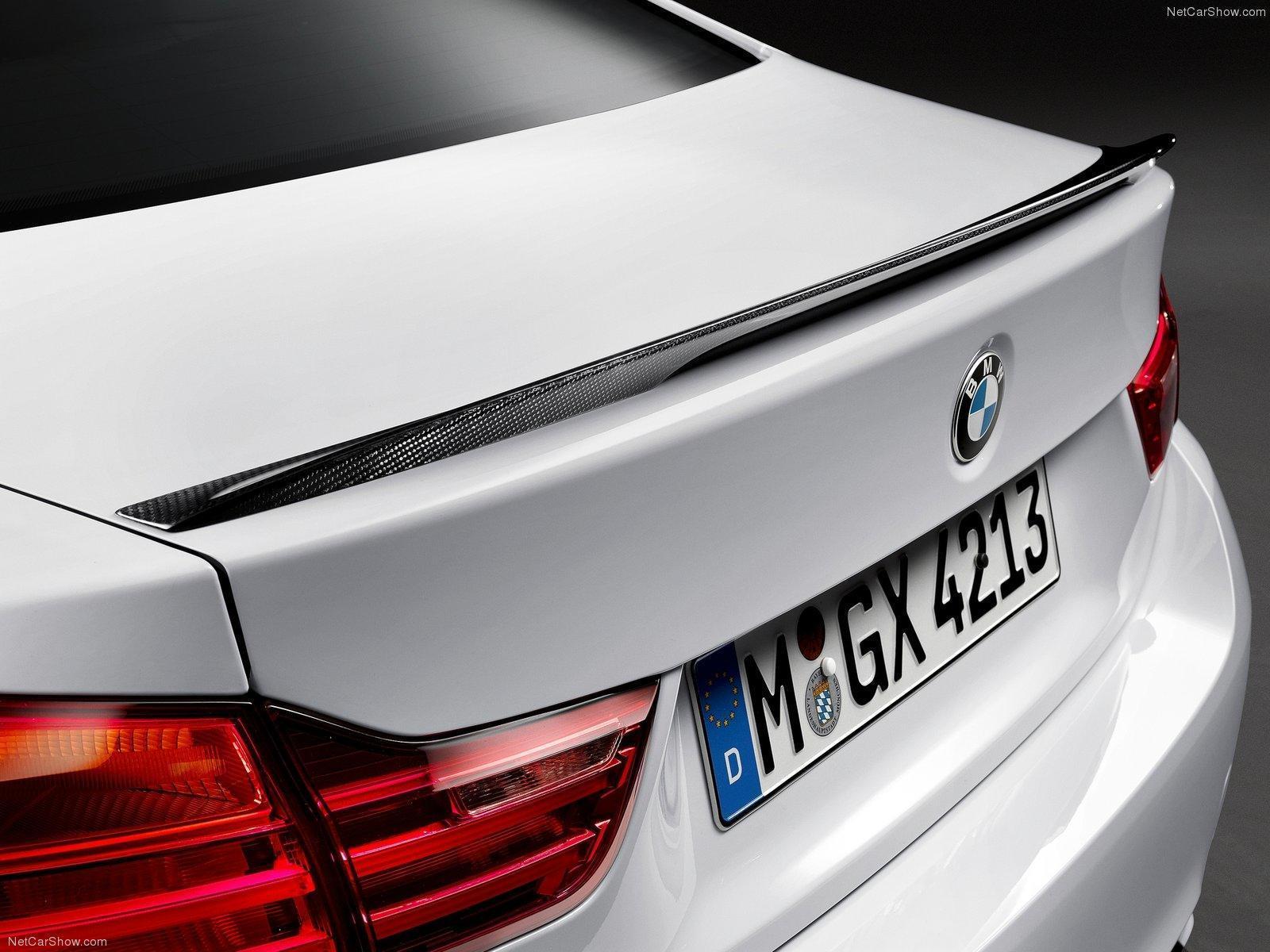 Карбоновый спойлер на крышку багажника Performance Style для BMW 4er
