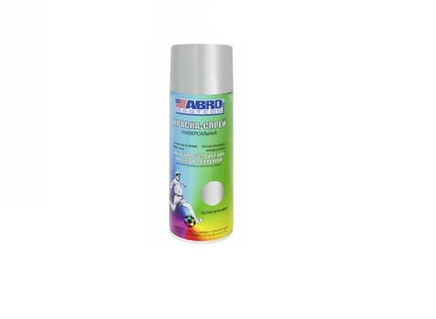 ABRO Краска-спрей Алюминиевая 400мл
