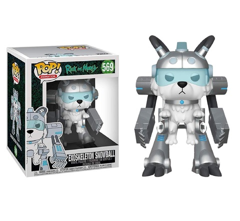 Фигурка Funko POP! Vinyl: Rick & Morty S6: 6
