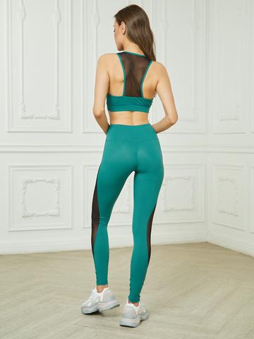 Костюм жен. для йоги и фитнеса Check