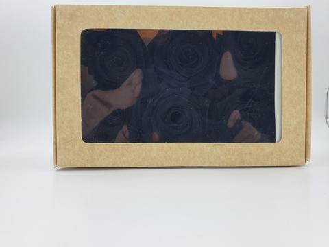 Стабилизированный Бутон Розы Optimum Flowers Standart . Цвет Черный (Диаметр 7см)