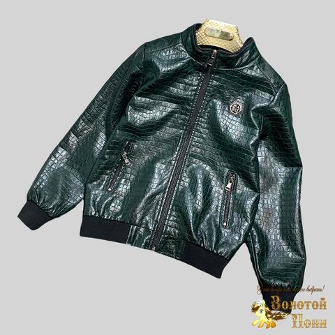 Куртка экокожа мальчику (8-15) 210328-К-74028