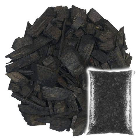 Декоративная щепа Черная 60л