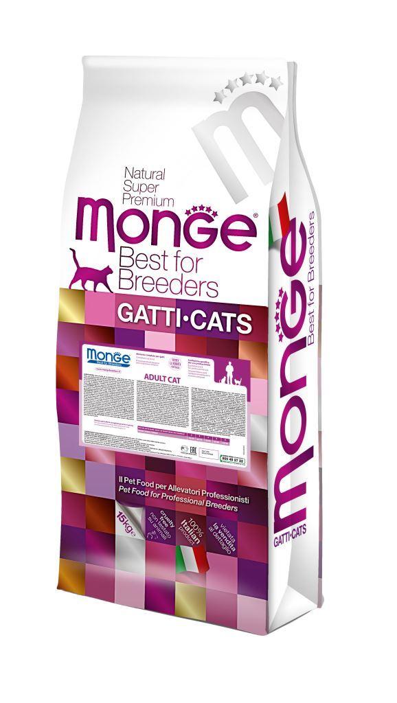 купить Monge Cat корм для взрослых кошек 10 кг