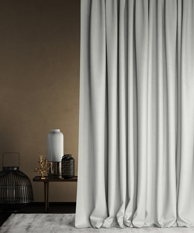 Готовая штора Балли светло-серый