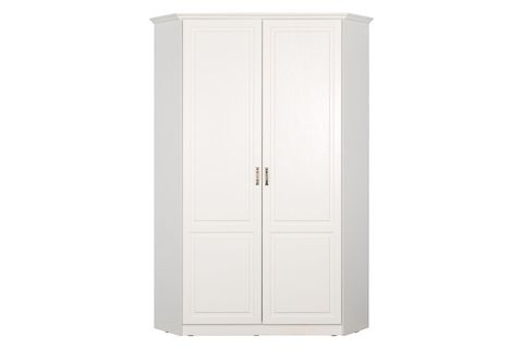 Шкаф для одежды Ливерпуль 13.98 угловой Моби белый/ясень ваниль