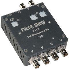 Усилитель-распределитель Freakshow HD 2x4 12G-SDI Distribution Amplifier (Coaxial)