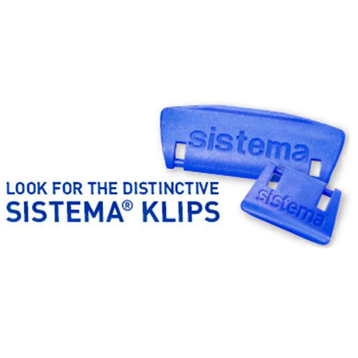 """Контейнер пищевой Sistema """"KLIP IT"""", двойной, 2 л"""