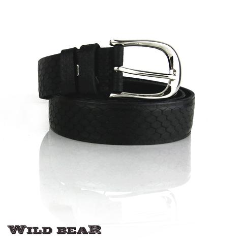 Ремень WILD BEAR RM-021f Black Premium
