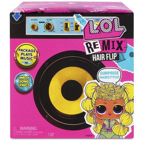 ЛОЛ Ремикс куколки с Волосами