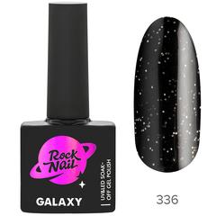 Гель-лак RockNail Galaxy 336 Black Hole, 10мл.