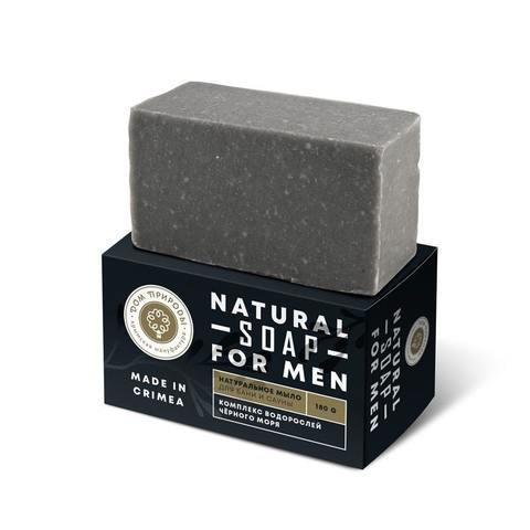 Натуральное мыло «Для бани и сауны» для мужчин (Дп)