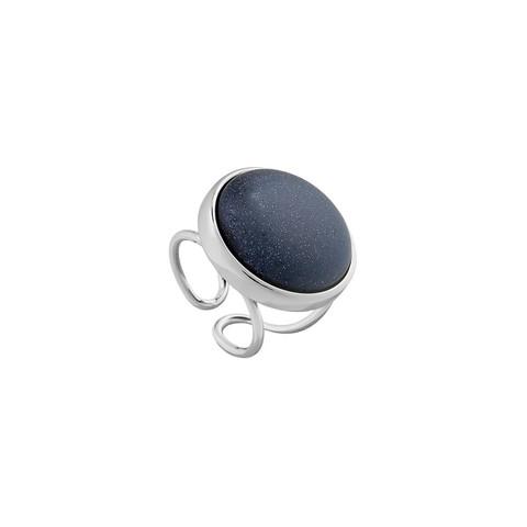 Кольцо Pearl Blue Aventurine 16.5 мм K0948.23 BL/S