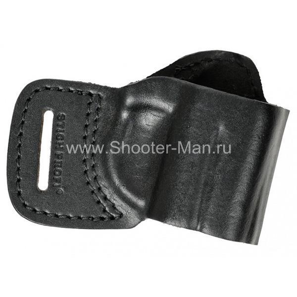 Кобура кожаная поясная для пистолета Оса ПБ-4 ( модель № 5 ) Стич Профи