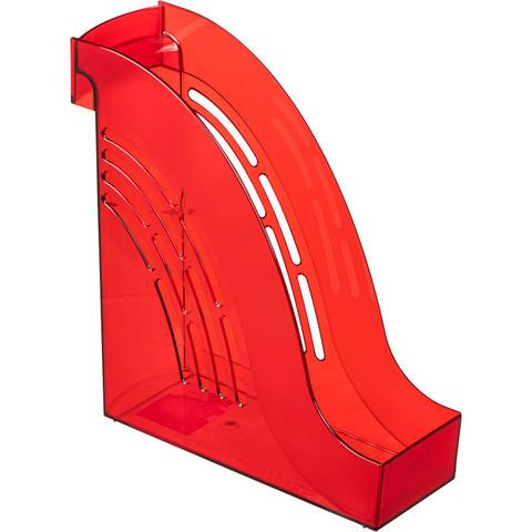 Вертикальный накопитель Attache Яркий Офис пластиковый красный ширина 95мм