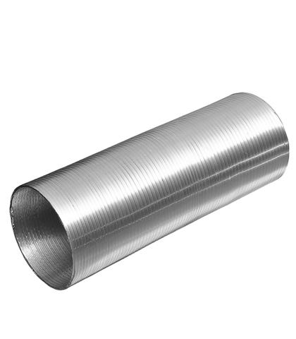 Канал алюминиевый гофрированный Компакт (1,5м) d=100