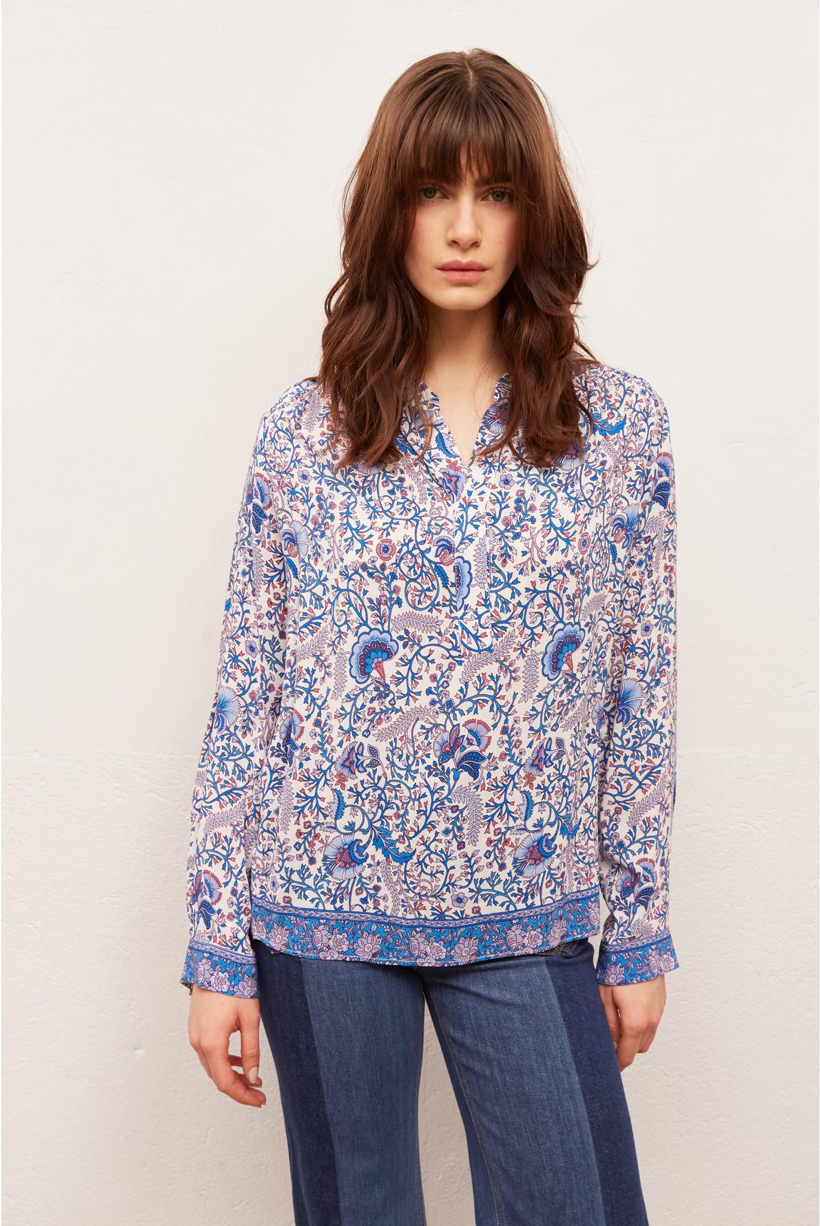 NAMA - Свободная блуза с принтом