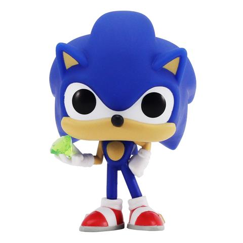 Фигурка Funko POP! Vinyl: Games: Sonic: Sonic w/ Emerald 20147