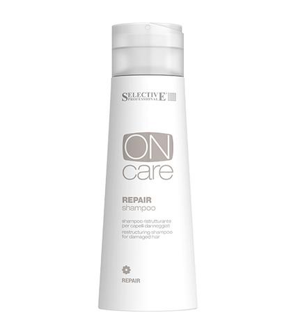 Selective Oncare Repair Восстанавливающий шампунь для поврежденных волос 250 мл