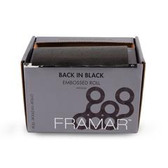 Embossed Roll Medium Back In Black | Фольга в рулоне с тиснением «Во власти черного» (98 м) в упаковке