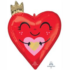 А Фигура, Сердце красное с короной, 26