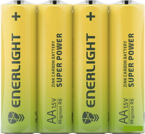 Батарейки Enerlight Super Power R6, AA (4/48)