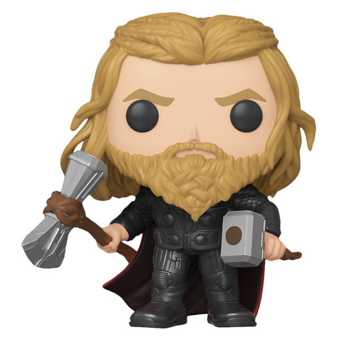 Фигурка Funko POP! Bobble: Marvel: Avengers Endgame: Thor With Weapons (Exc) 39980