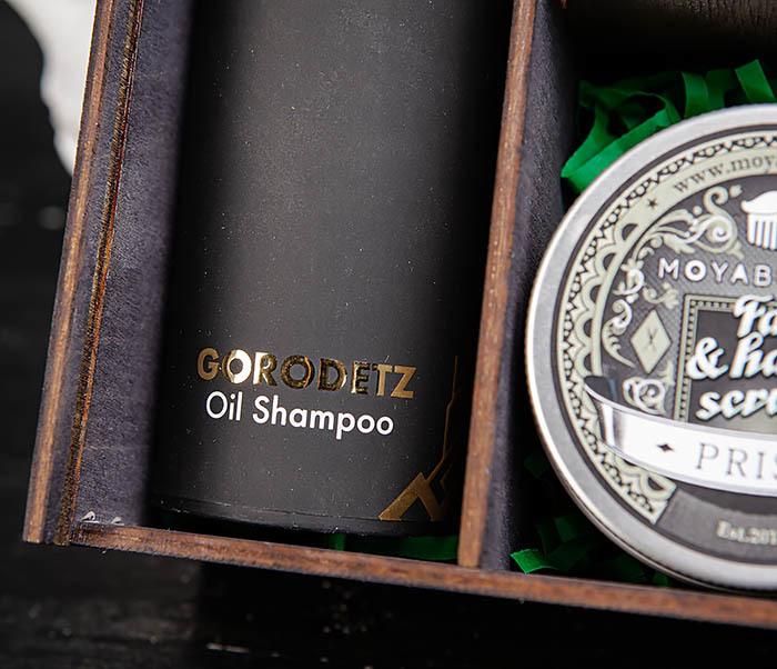 Набор средств для бородача: шампунь, масло для бороды и скраб для кожи фото 04