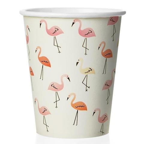 Стаканы (180 мл) Фламинго, Белый, 6 шт.