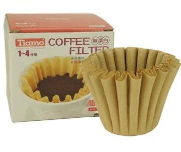 Фильтры бумажные Tiamo для КАЛИТЫ 2-4 чашки, 50 шт