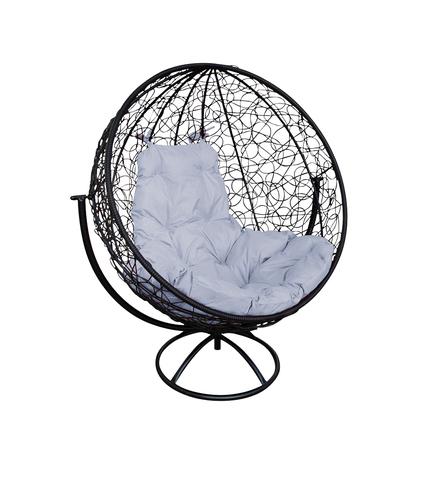 Кресло вращающееся Milagro black/grey