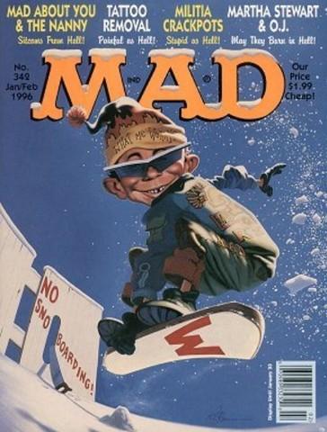 MAD #342 (January 1996)