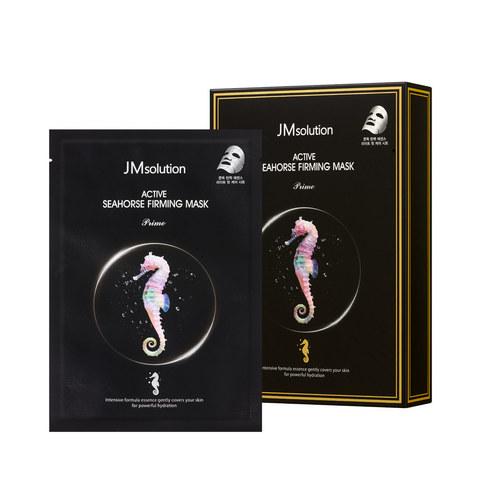 JMsolution Укрепляющая тканевая маска для лица с экстрактом морского конька и тройной гиалуроновой кислотой JMsolution ACTIVE SEAHORSE FIRMING MASK PRIME