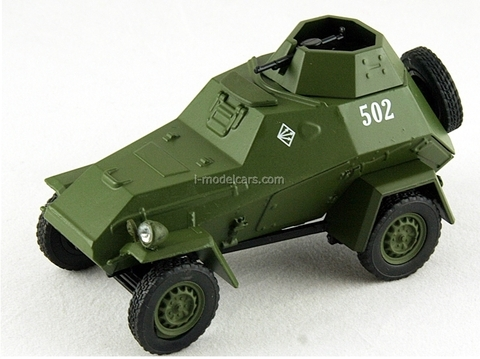 BA-64 military armored car 1:43 DeAgostini Auto Legends USSR #75