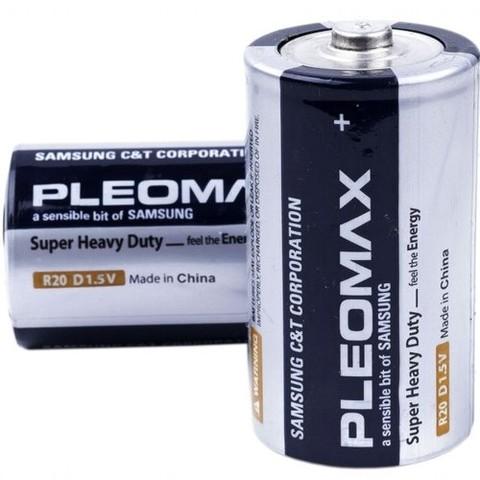 Батарейки Pleomax R20 (D)