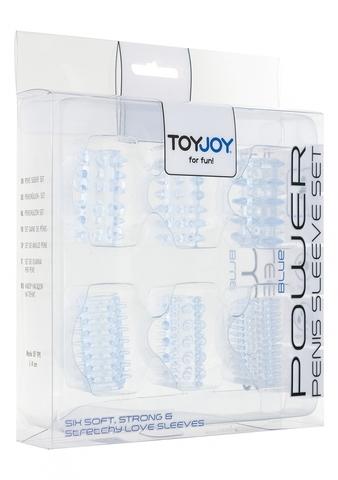 Набор насадок Toy Joy (6 шт.), 4 см
