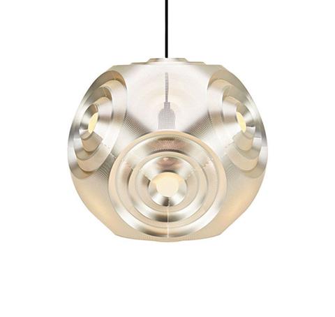 Подвесной светильник копия Curve Ball by Tom Dixon (золотой)