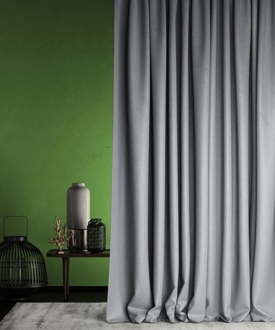 Готовая штора Балли серый