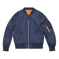Бомбер Alpha Industries L-2B Scout Rep. Blue/Orange (Синий/Оранжевый)