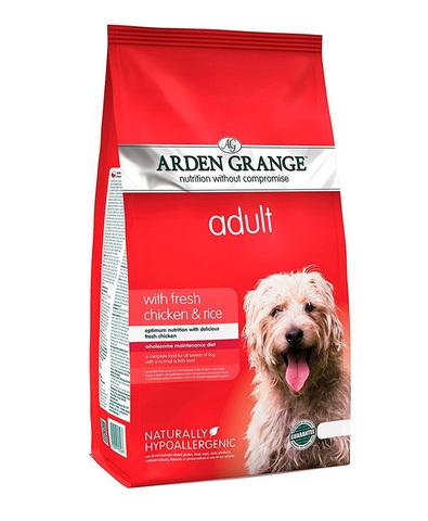 Arden Grange Adult сухой корм для собак с Курицей и рисом 2 кг