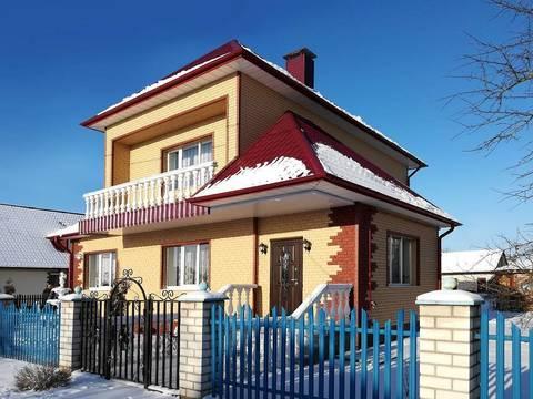 Сайдинг Ю пласт Стоун Хаус красный 3035х230 мм