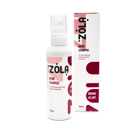 ZOLA Шампунь для бровей Brow Shampoo, 100 мл
