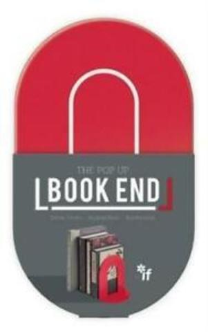 Kitab stendi - The PopUp Book End Red