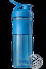 Шейкер-фляга Blender Bottle SportMixer 828мл Cyan [бирюзовый]