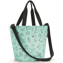 Сумка детская Reisenthel Shopper XS cats and dogs mint