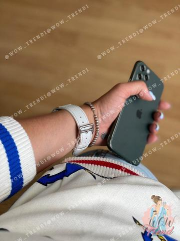 Ремешок Apple watch 38mm Hermès New Leather /white/