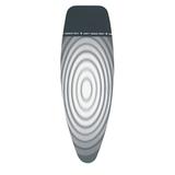 Чехол PerfectFit 135х45 см (D), 4 мм фетра + 4 мм поролона, термоустойчивая зона для утюга, Титановые круги, артикул 135842, производитель - Brabantia