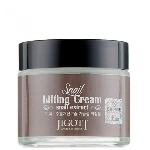JIGOTT Лифтинг крем для лица с муцином улитки SNAIL LIFTING CREAM 70мл