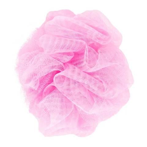 Розовая губка для ванны с вибропулей Vibrating Bath Sponge