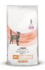 Сухой корм для кошек, Purina Pro Plan Veterinary Diets FELINE OM OBESITY MANAGEMENT, при ожирении